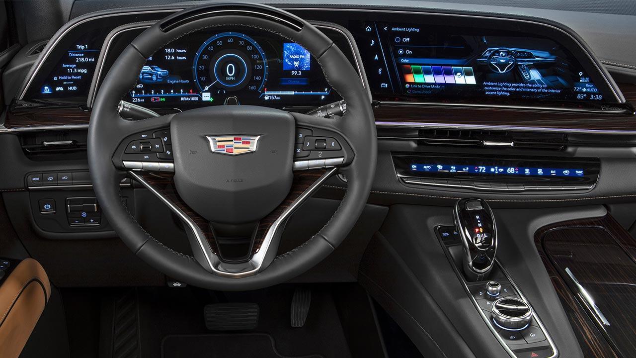 Cadillac Escalade 2021 - Cockpit
