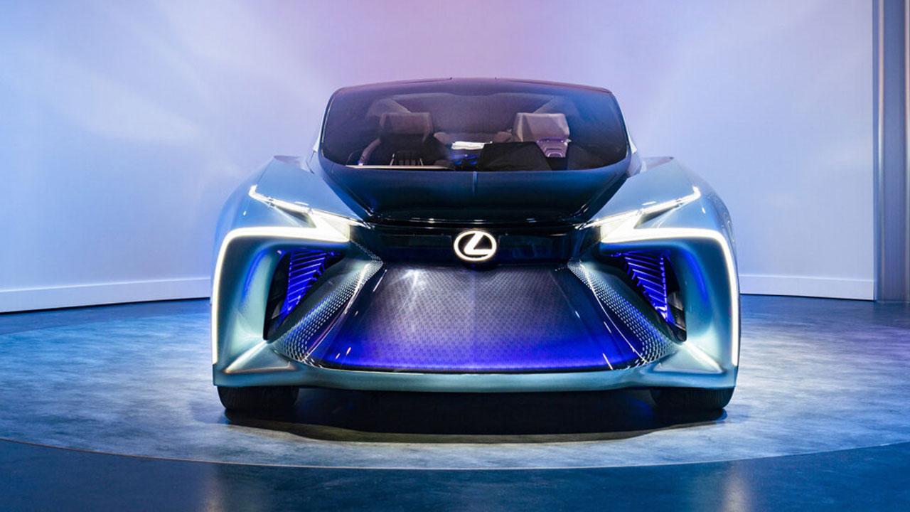Lexus LF-30 Electrified Concept - Frontansicht