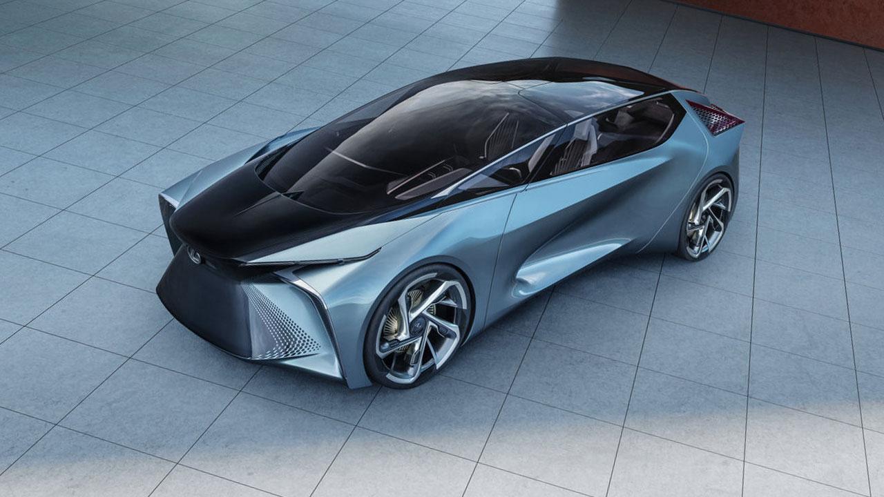 Lexus LF-30 Electrified Concept - Vogelperspektive