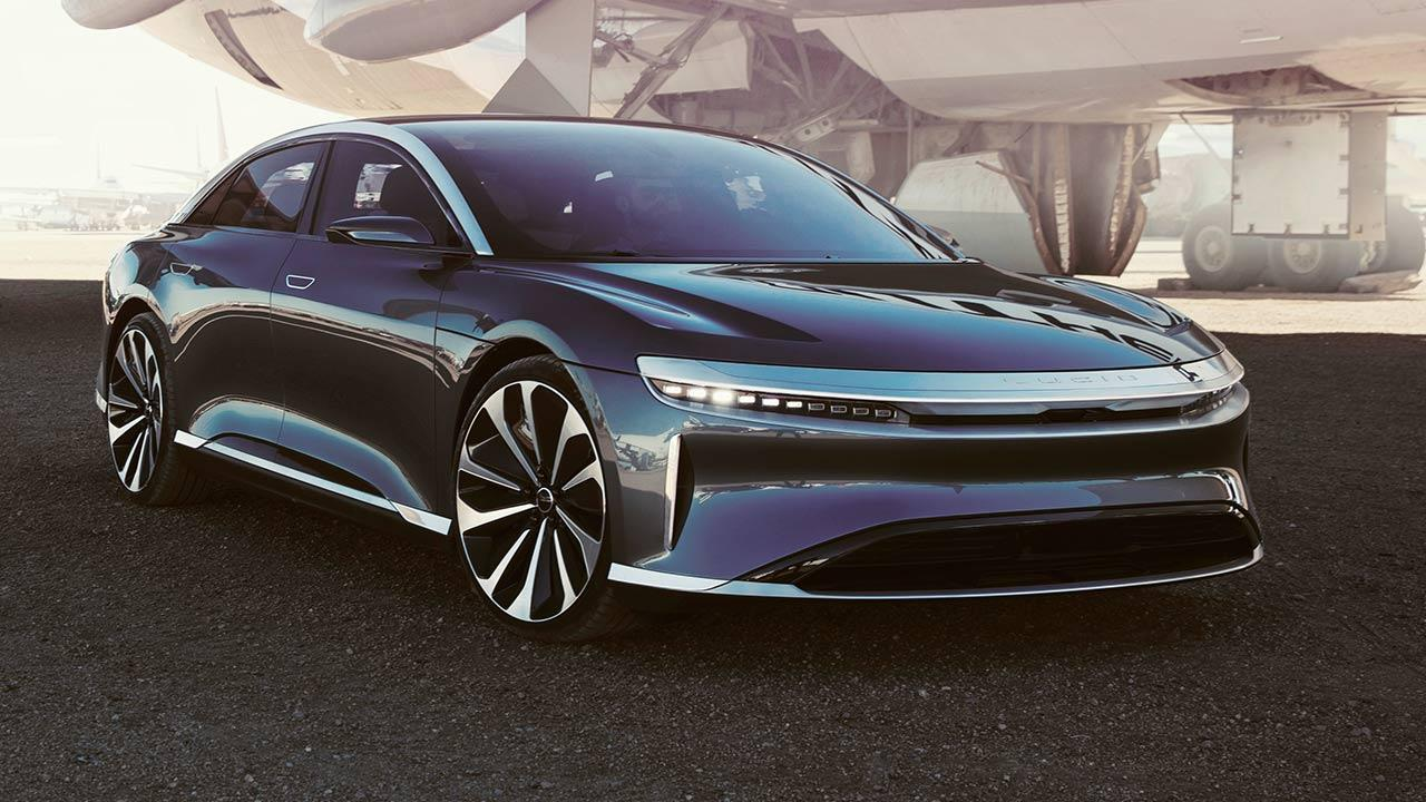 Lucid AIr - Frontansicht