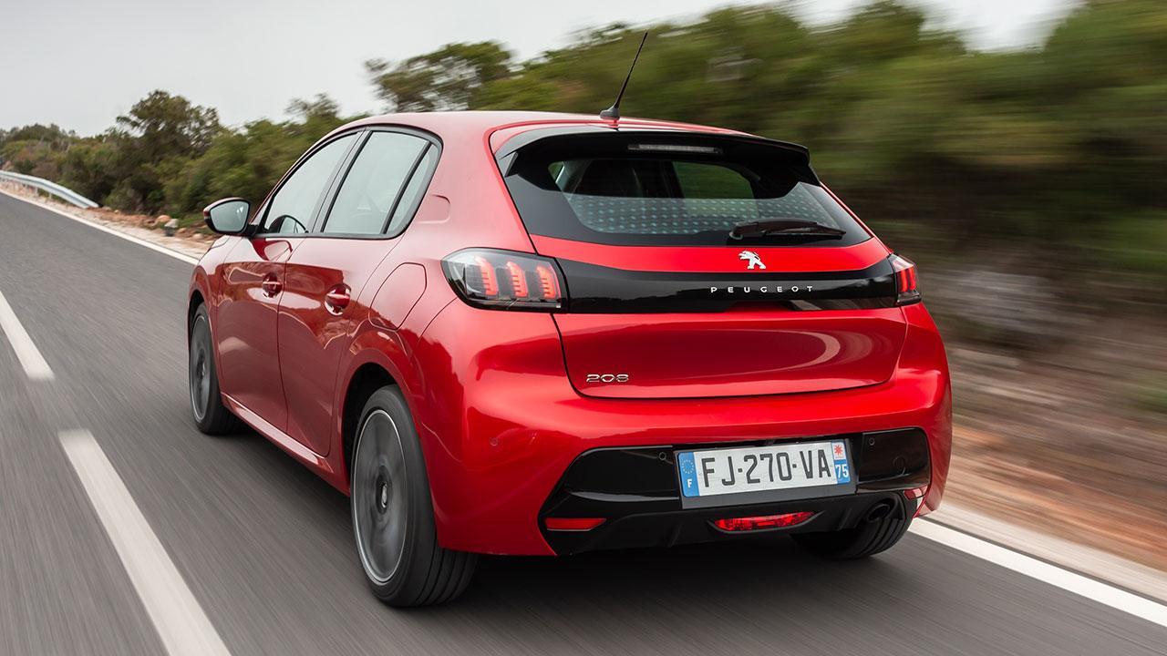 Neuer Peugeot 208 - Heckansicht
