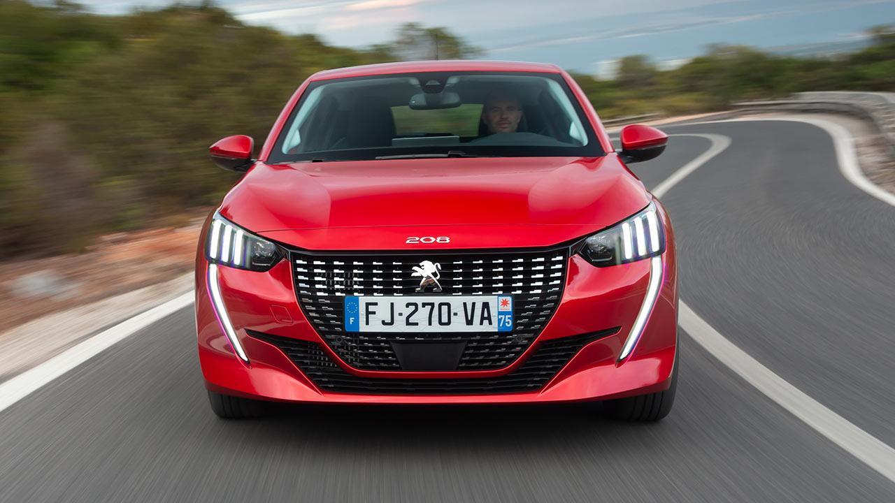 Neuer Peugeot 208 - Frontansicht