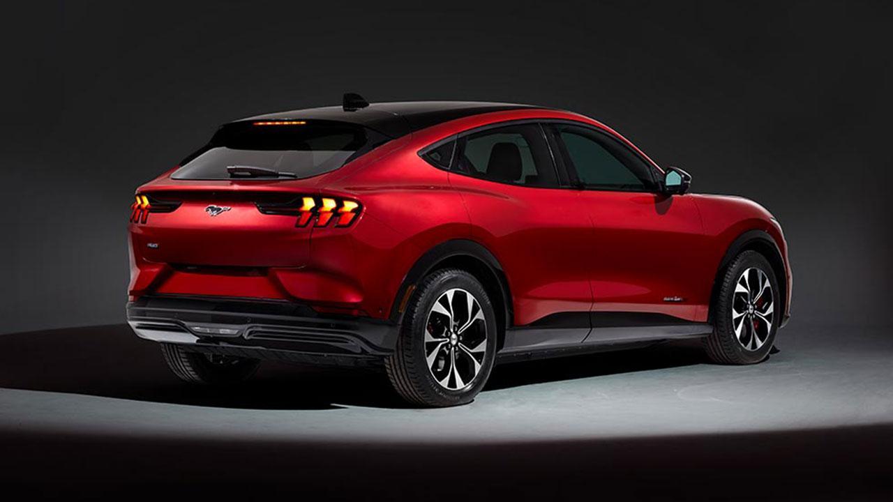 Ford Mustang Mach-E - Heckansicht