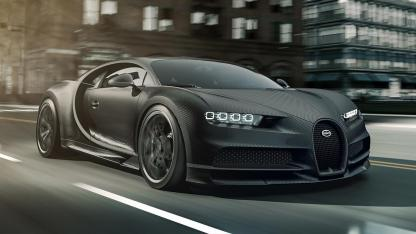 Bugatti Chiron Noire Exclusive Special Model