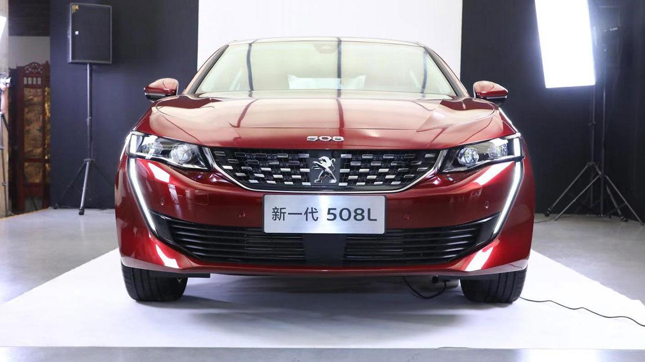 Peugeot 508L - Front