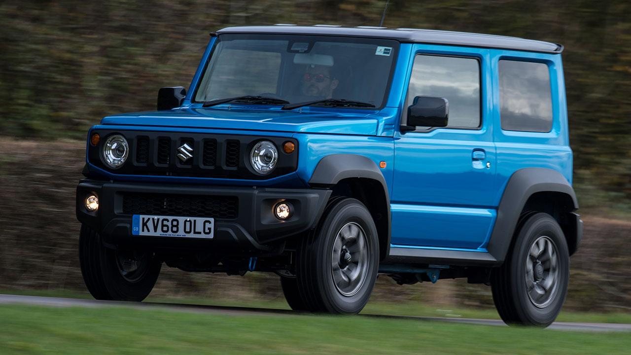 Suzuki Jimny  - in voller Fahrt