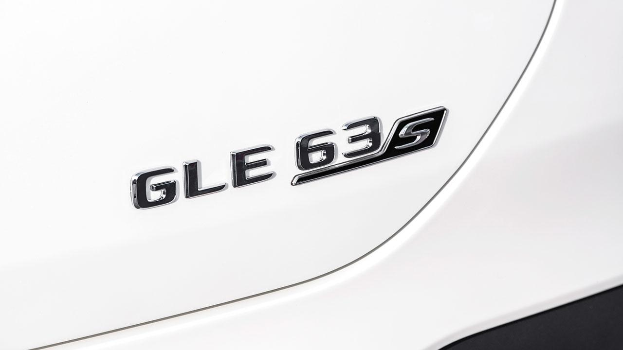 Mercedes-AMG GLE 63 S 4MATIC+ Coupé - Schriftzug