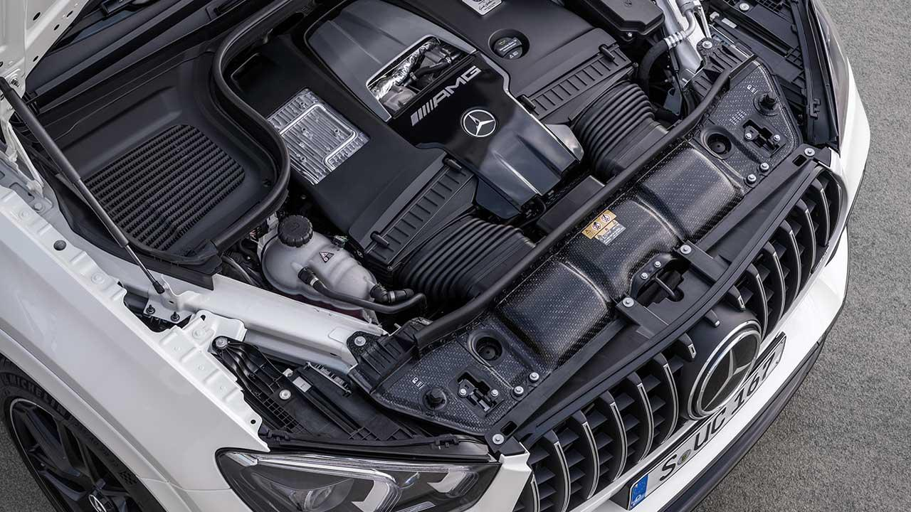 Mercedes-AMG GLE 63 S 4MATIC+ Coupé - Motor