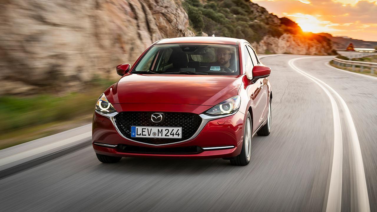 Mazda2 Skyactiv-G - abendliche Ausfahrt