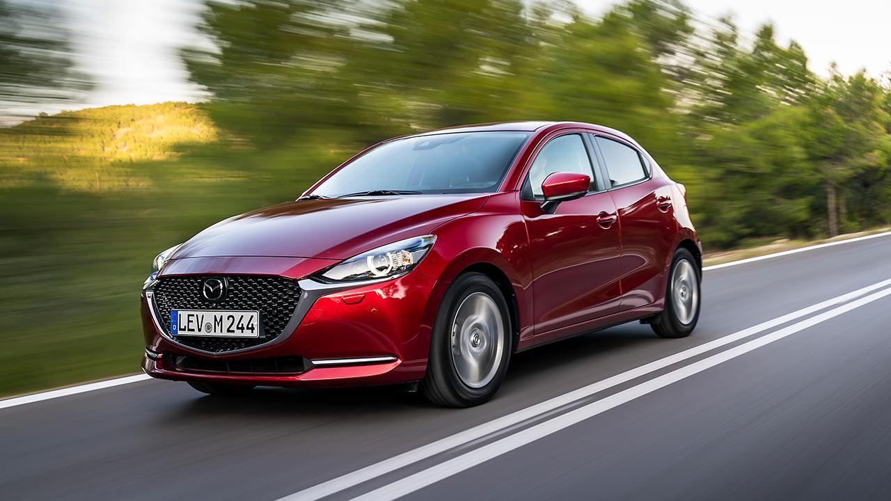 Mazda2 Skyactiv-G - in voller Fahrt