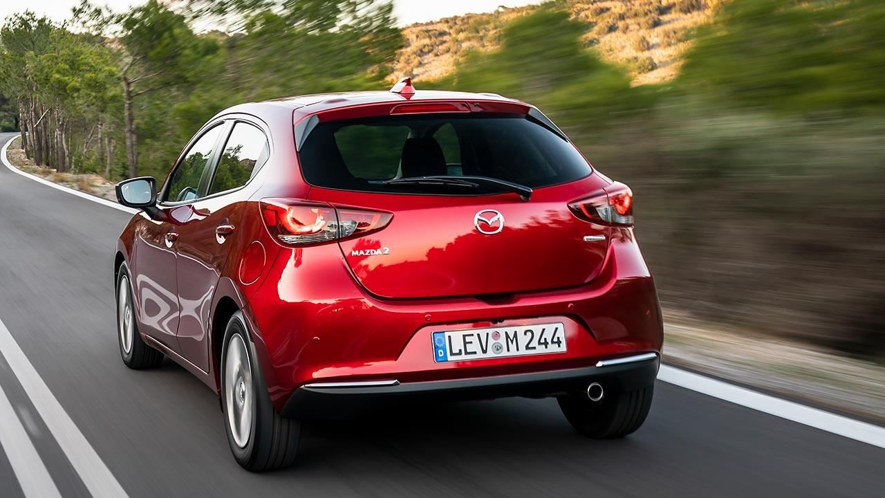 Mazda2 Skyactiv-G - Heckansicht
