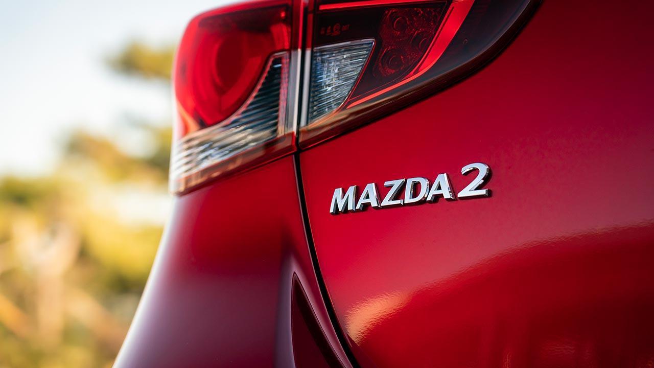 Mazda2 Skyactiv-G - Schriftzug