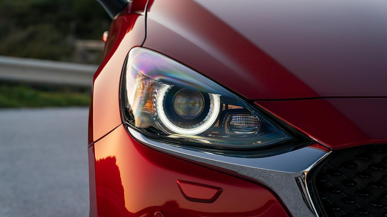 Mazda2 Skyactiv-G - Scheinwerfer
