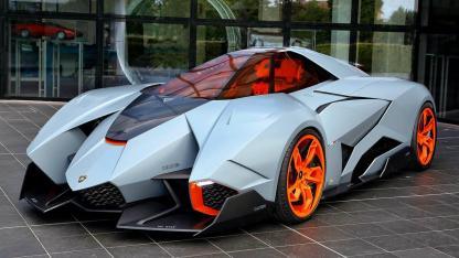 Lamborghini Egoista - Frontansicht