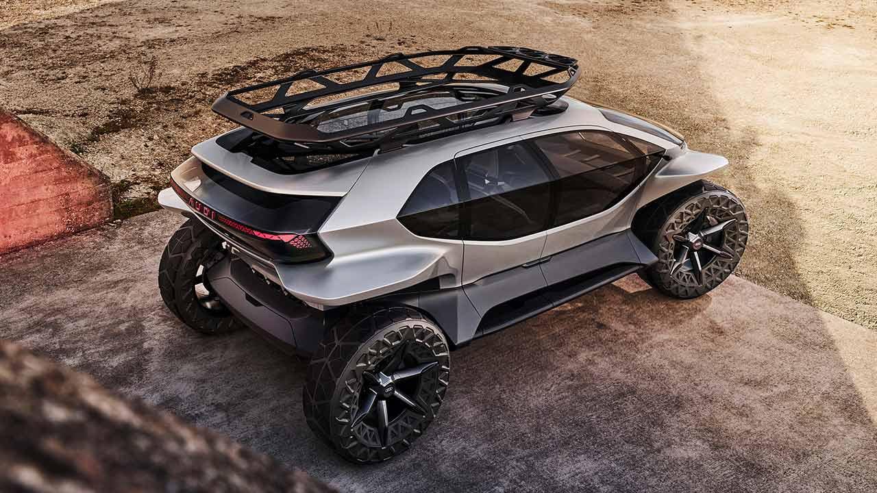 Audi AI:Trail quattro - Heckansicht