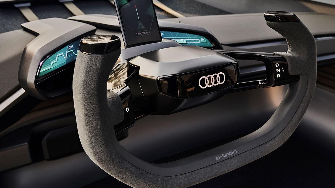 Audi AI:Trail quattro - Lenkrad