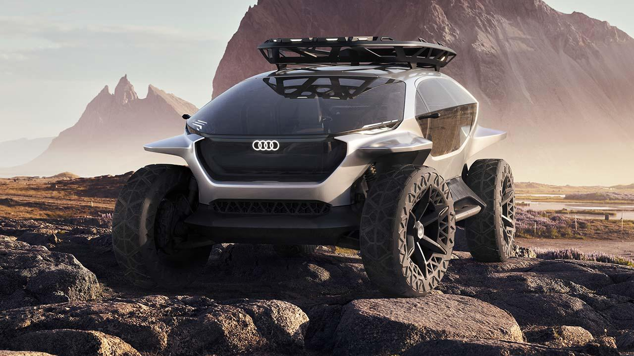 Audi AI:Trail quattro -  Frontansicht