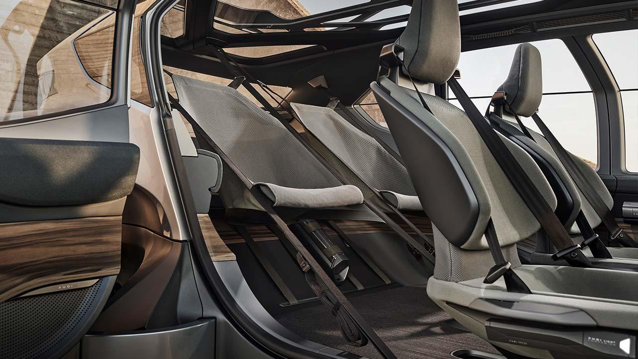 Audi AI:Trail quattro - Rücksitze