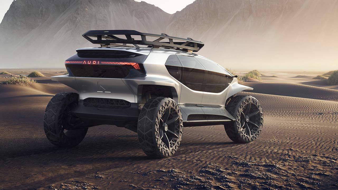 Audi AI:Trail quattro - Heck