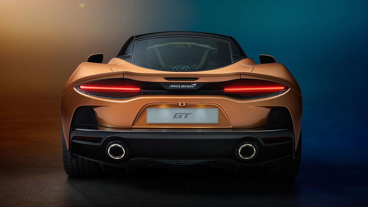 McLaren New GT - Heckansicht