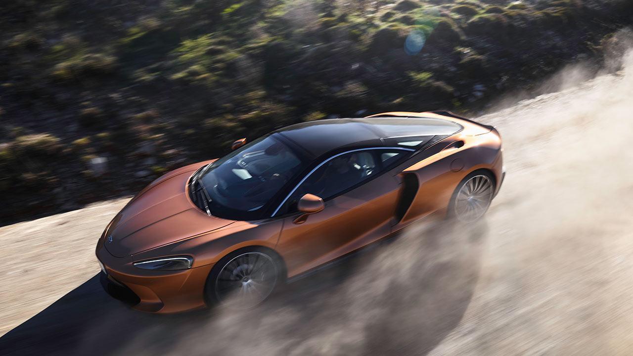 McLaren New GT - in voller Fahrt