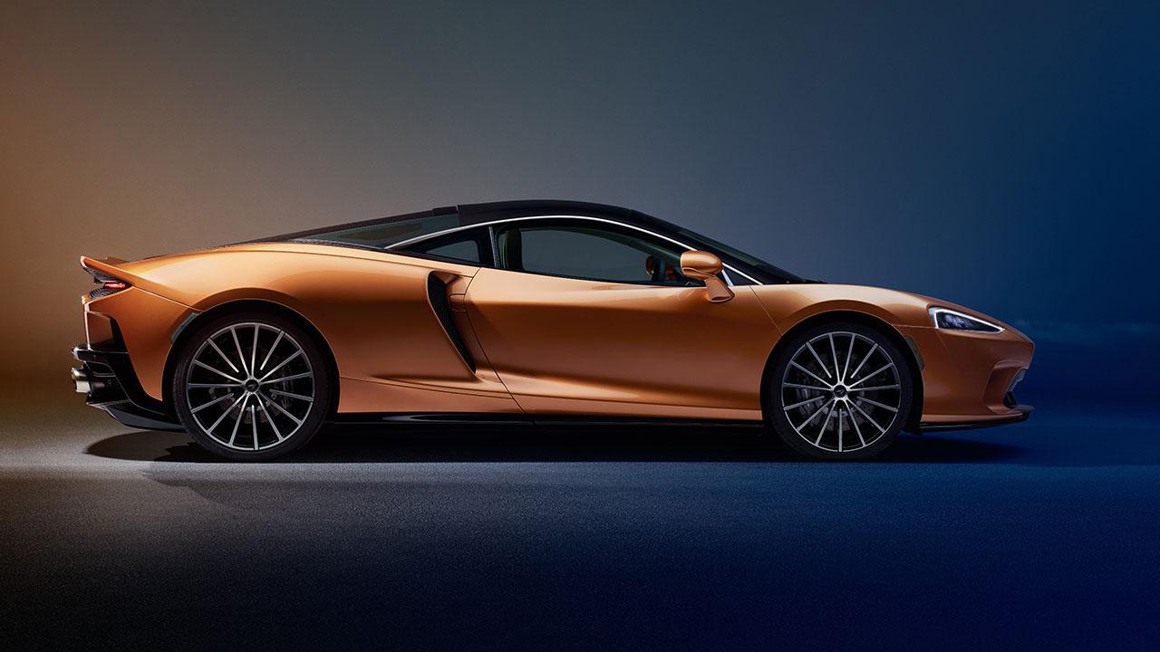 McLaren New GT - Seitenansicht