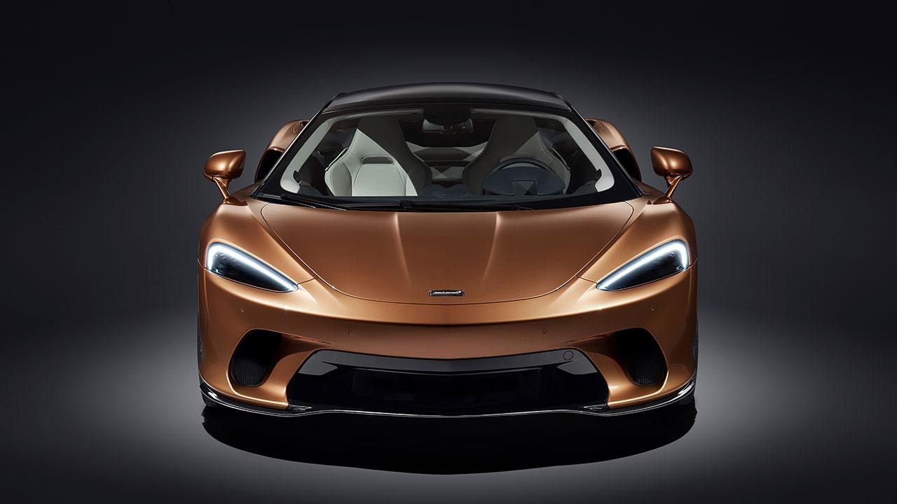 McLaren New GT - Frontansicht