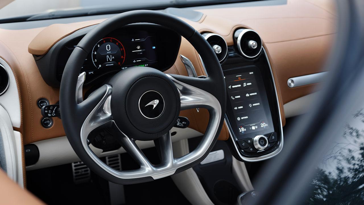 McLaren New GT - Lenkrad