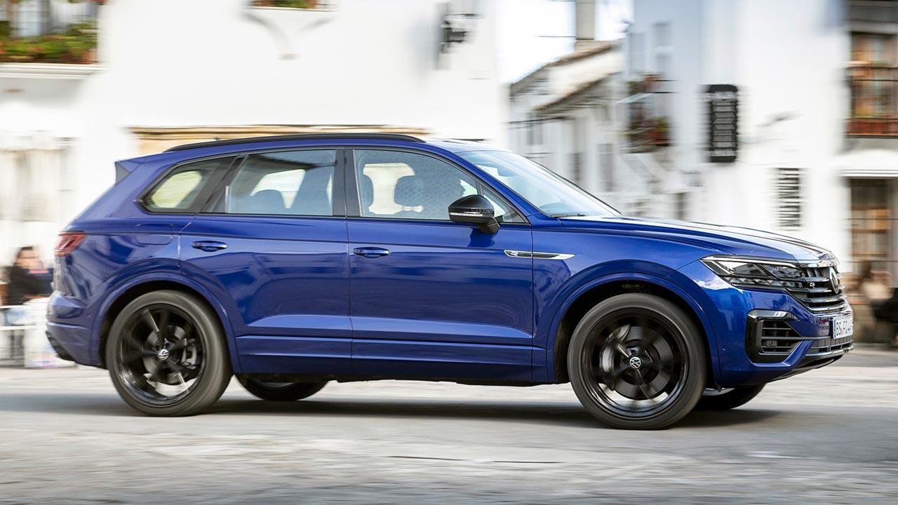 Volkswagen Touareg R - durch die Stadt