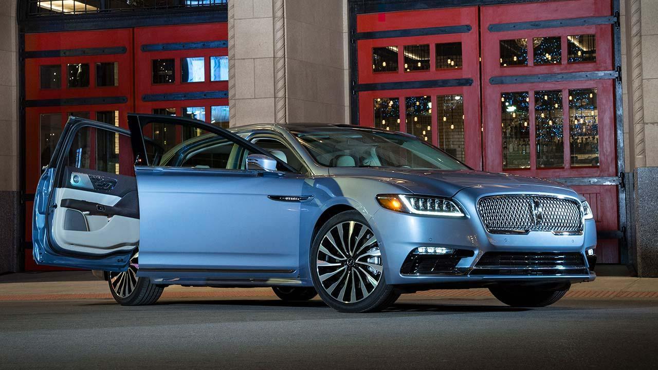Lincoln Continental 80th Anniversary - mit offenen Türen
