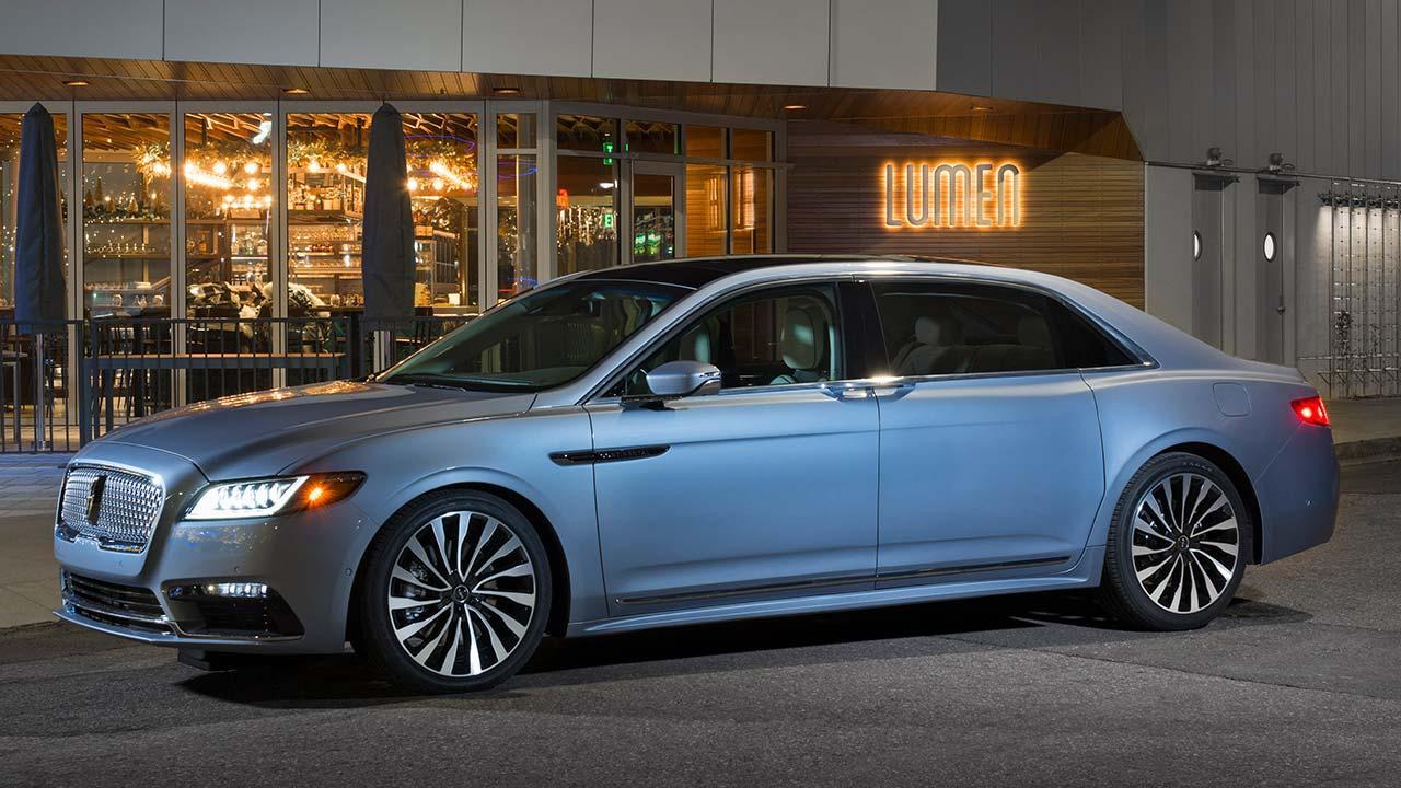 Lincoln Continental 80th Anniversary - Seitenansicht