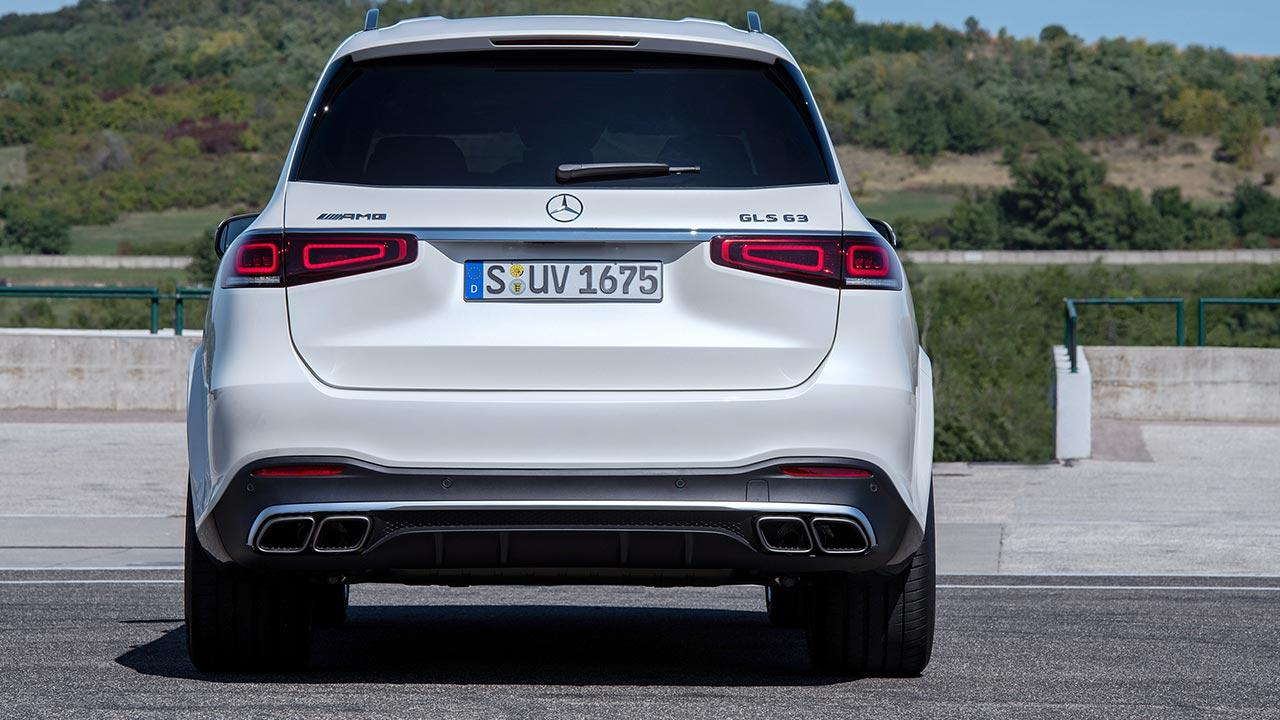 Mercedes-AMG GLS 63 4MATIC+ - Heckansicht