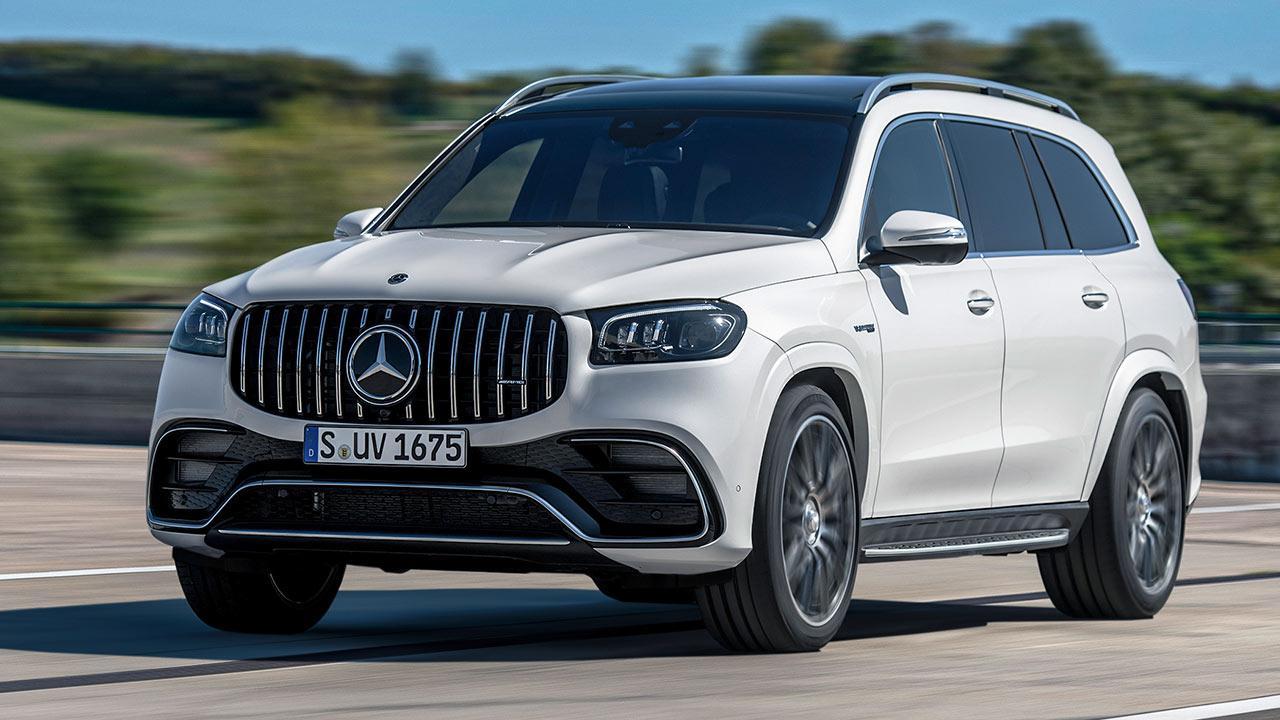 © Daimler AGMercedes-AMG GLS 63 4MATIC+ - in voller Fahrt
