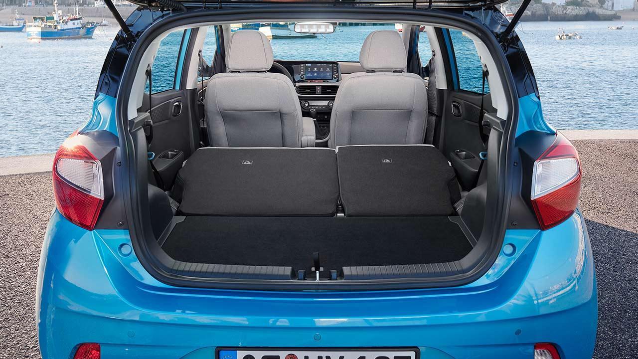 Hyundai i10 - offene Heckklappe