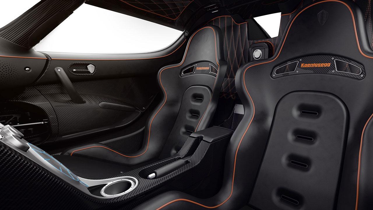 Koenigsegg Agera RS - Sportsitze