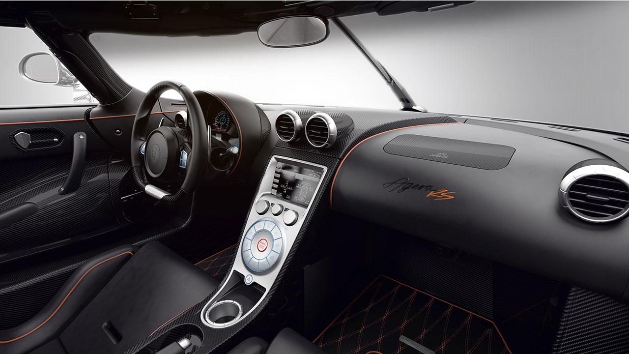 Koenigsegg Agera RS - Cockpit