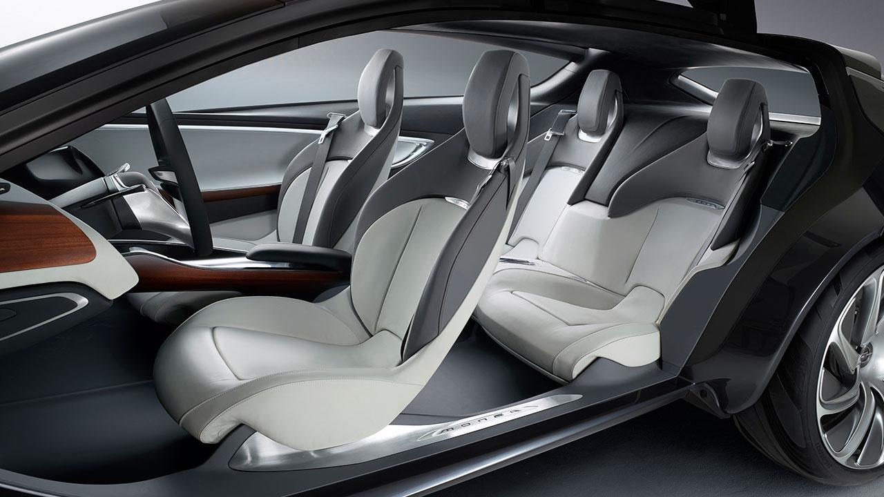 Opel Monza Concept - Autositze