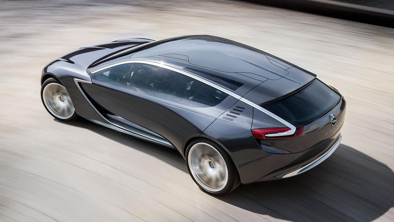 Opel Monza Concept - Vogelperspektive