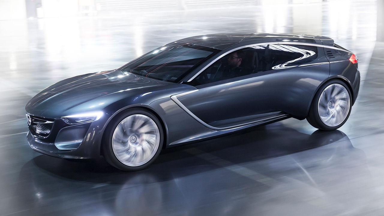 Opel Monza Concept - in voller Fahrt