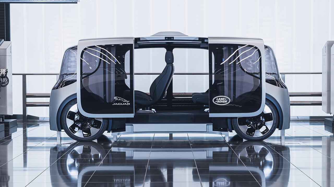 Jaguar & Land Rover Project Vector - Seitenansicht