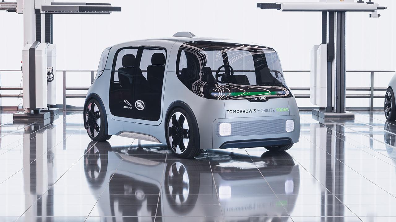 Jaguar & Land Rover Project Vector - Frontansicht