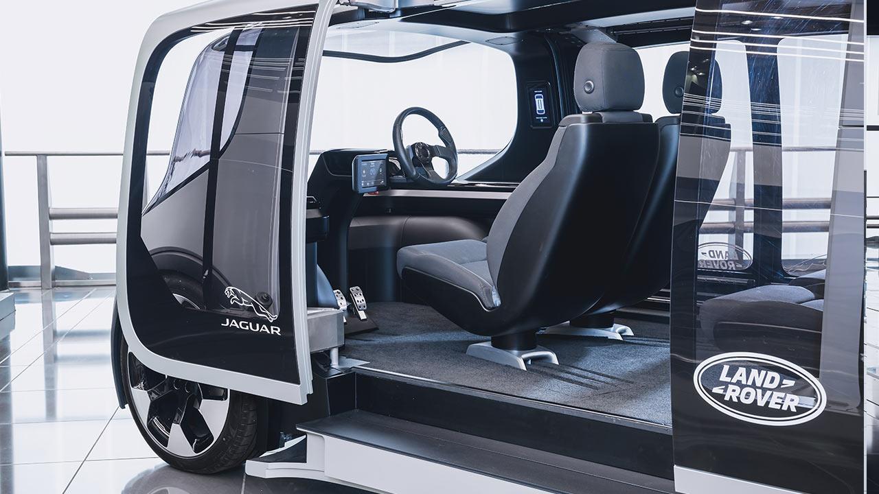 Jaguar & Land Rover Project Vector - Cockpit