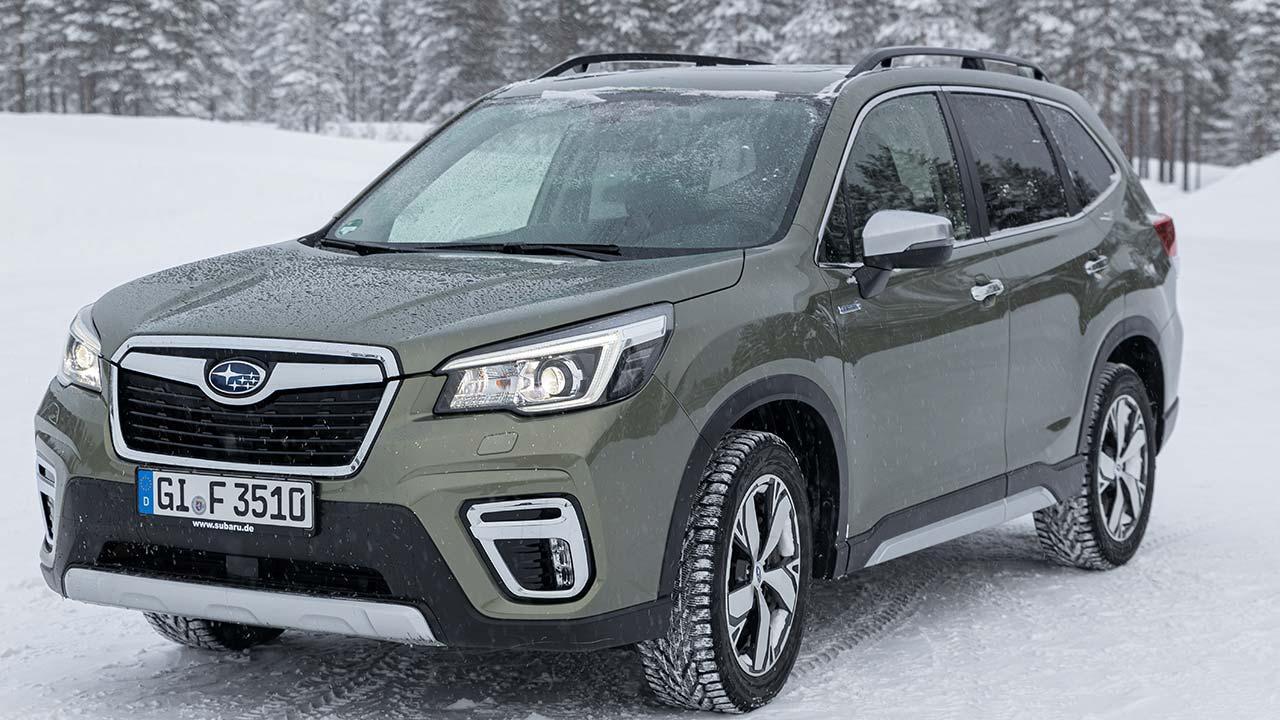 Subaru Forester e-BOXER - Frontansicht