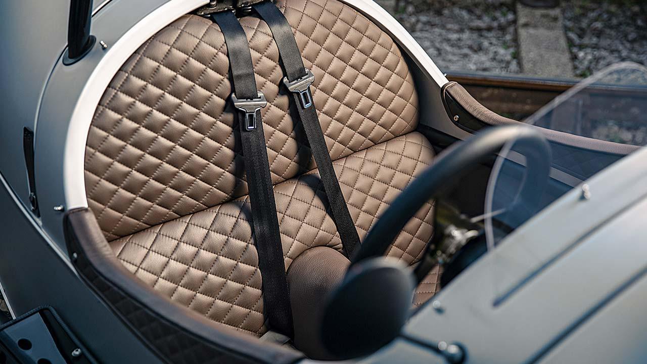Morgan 3-Wheeler - Cockpit