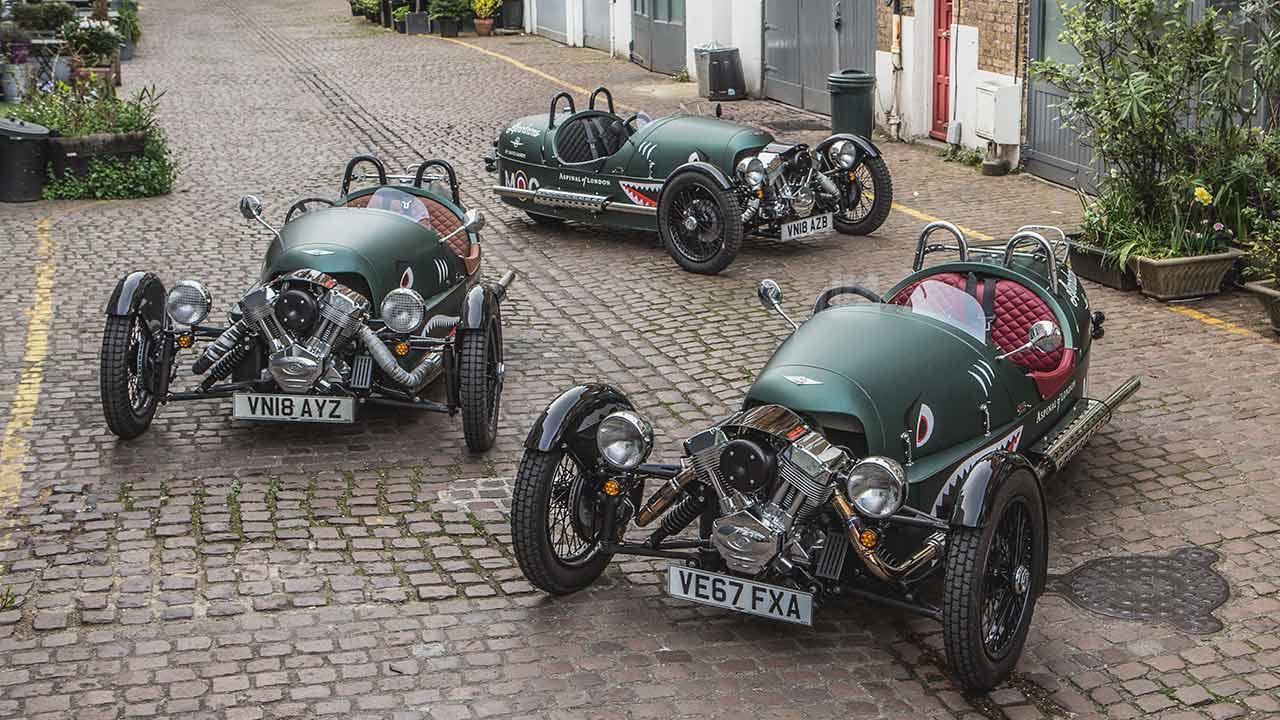 Morgan 3-Wheeler - mehrere Exemplare
