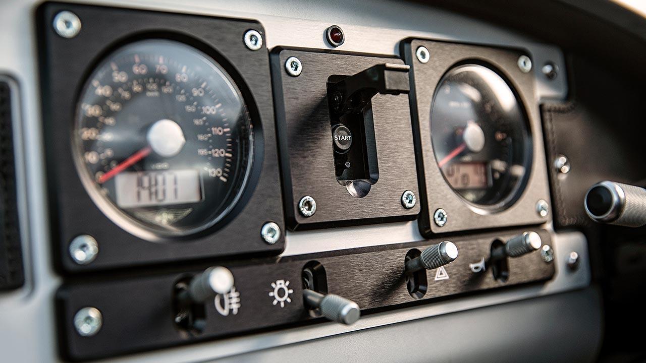 Morgan 3-Wheeler - Instrumente