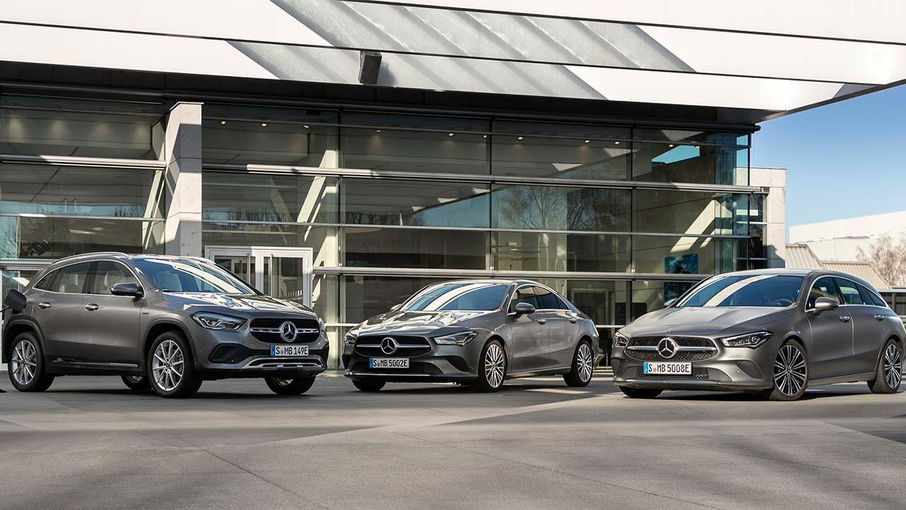Mercedes-Benz Plug-in-Hybridmodelle mit EQ Power - alle Modelle