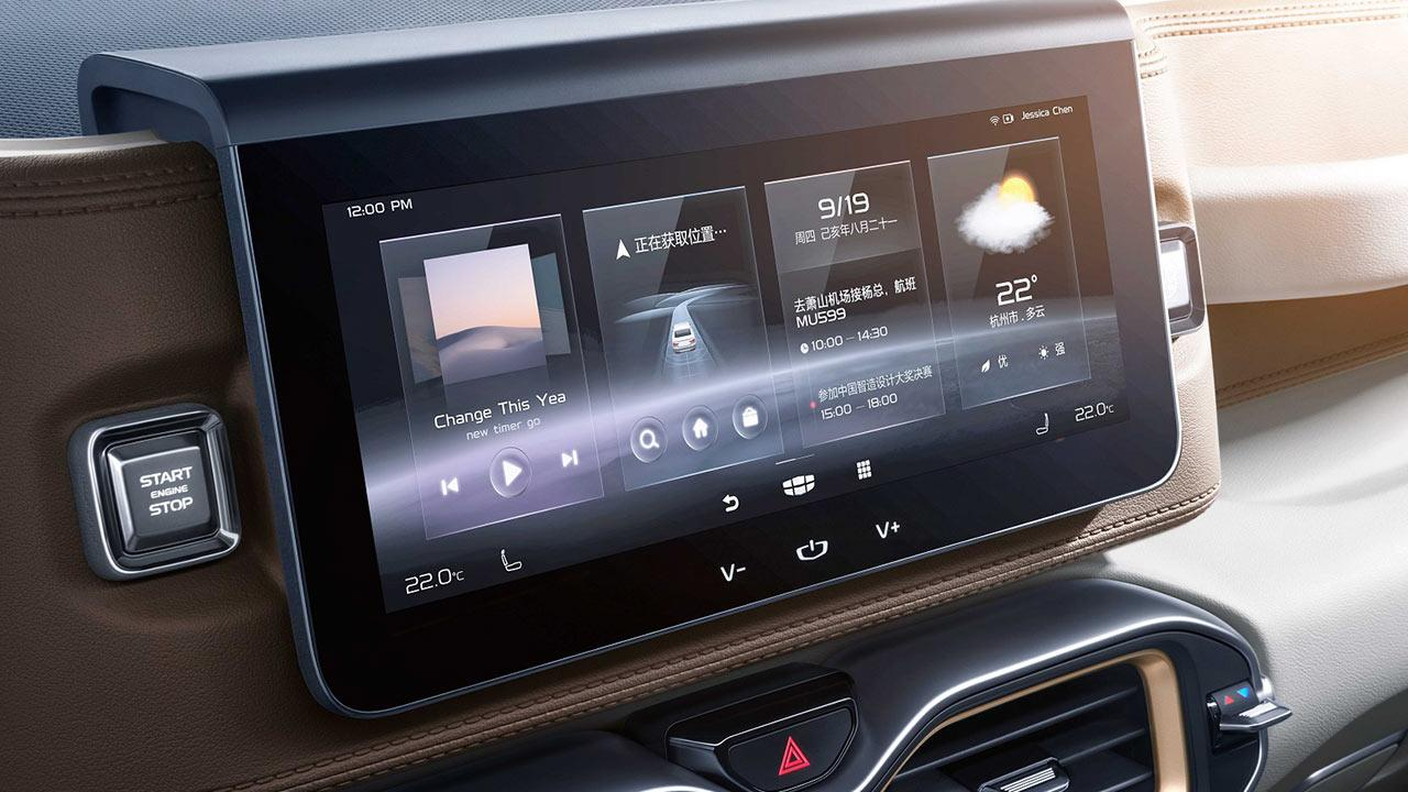 Geely ICON - Display