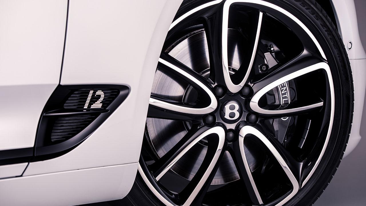 Bentley Continental GT Convertible W12 - Felgen mit Logo