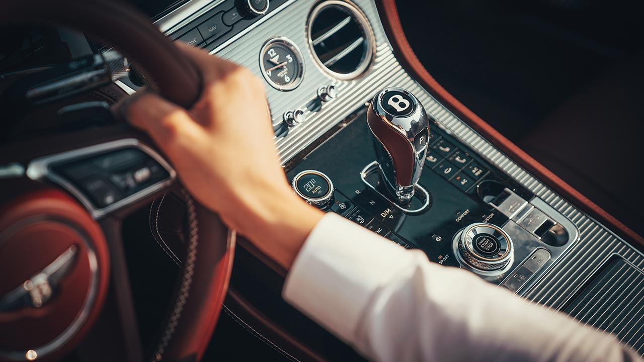 Bentley Continental GT Convertible W12 - Schaltkonsole